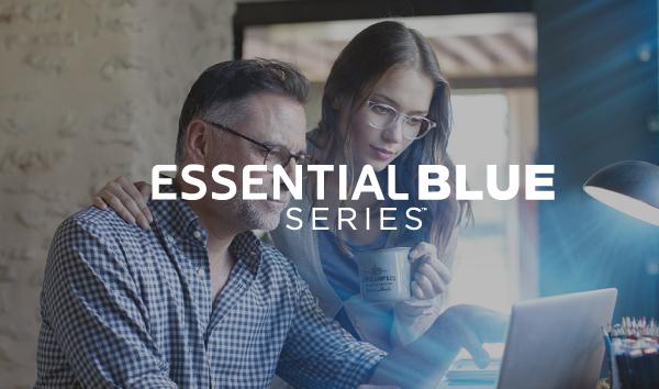 Essential-Blue Tus lentes